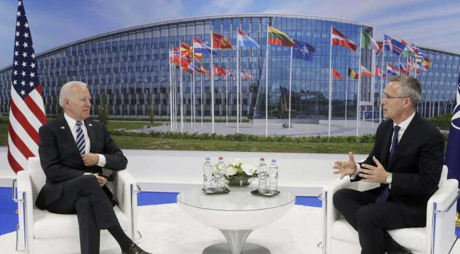 Бајден разговара со лидерите на НАТО за Русија и климатските промени