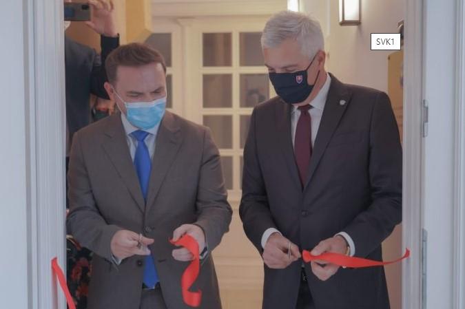 Османи и Корчок ја отворија амбасадата на Македонија во Братислава