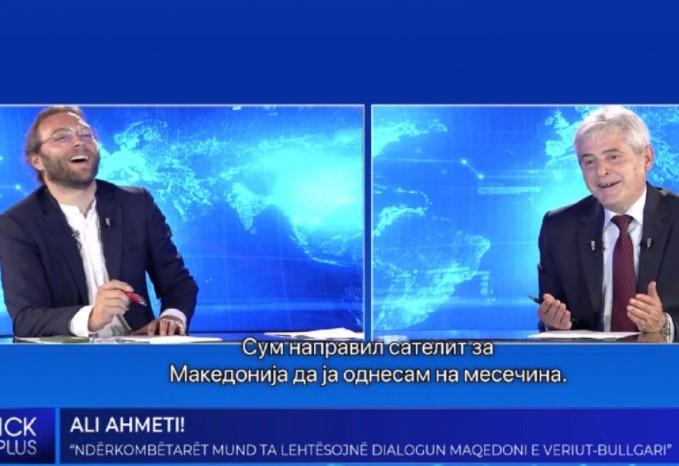 (ВИДЕО) Ахмети ќе ја освојува Месечината, направил ракета да ја однесе Македонија таму