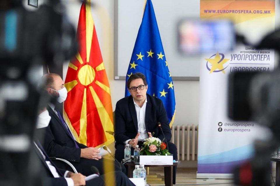 Пендаровски: Ако цената за влез во ЕУ е да се обезличиме, не ни e потребна ЕУ