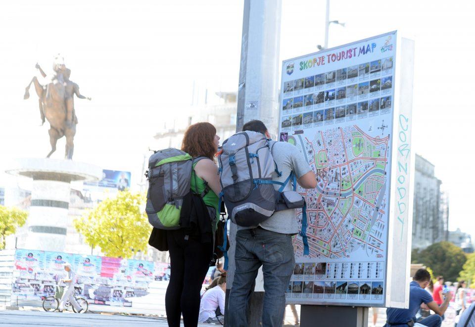 Над 9.000 странски туристи ја посетиле Македонија во април