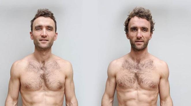 Еден близнак јадел само веганска храна, друг месо: Погледнете ги резултатите