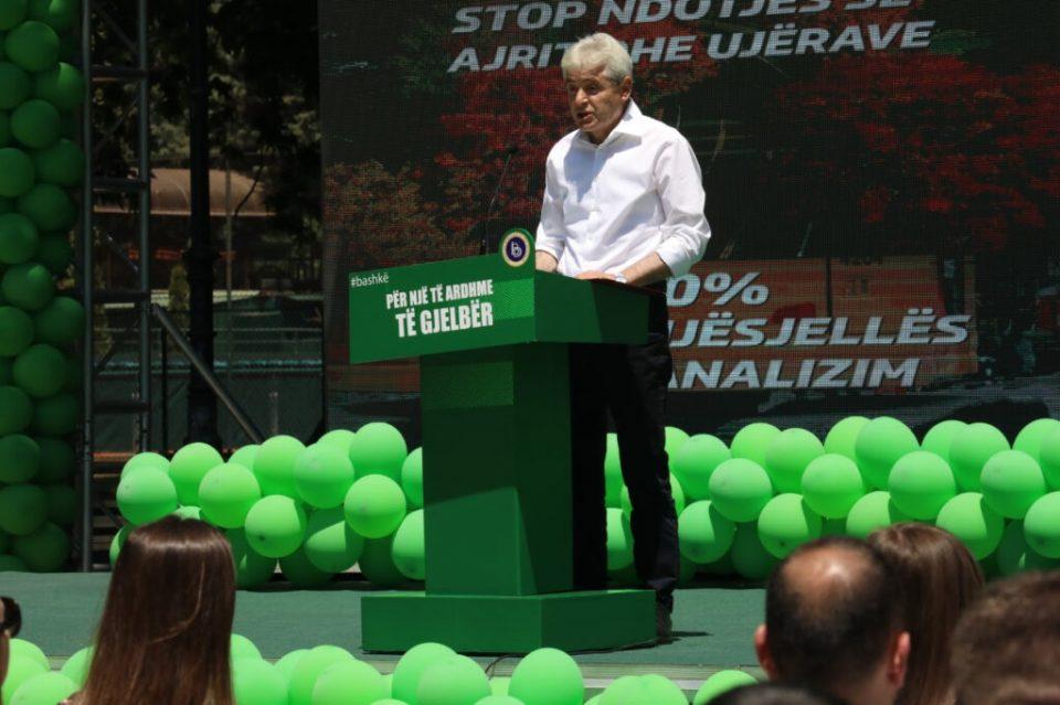 """Ахмети: Ќе изненадиме со нашата платформа за """"зелена"""" иднина"""