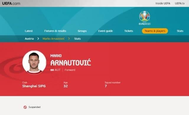 Дали Арнаутовиќ е суспендиран? Останува УЕФА да потврди со официјално соопштение
