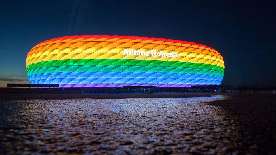 """Германците ќе ја обојат """"Алијанц Арена"""" во боите на виножитото за пречек на фудбалерите од Унгарија"""