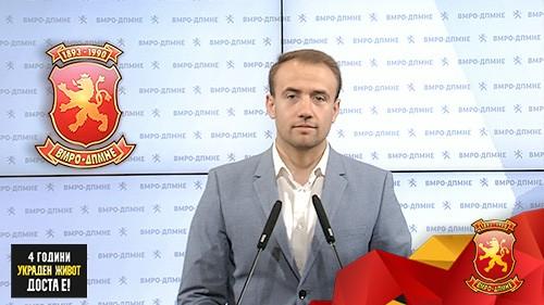 (ВИДЕО) Стојаноски за договорот со Бугарија: Го повикуваме народот да биде внимателен и сериозно да ги следи состојбите