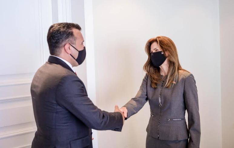 Средба Заев – Брнз: Извршната наредба е за заштита на САД, Македонија и сојузниците