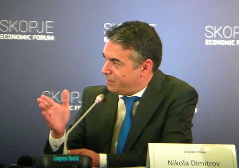 На Димитров му станува тешко да зборува пред граѓаните за евроинтеграциите: Блокадата е проблем и за ЕУ