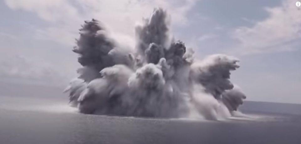(ВИДЕО) Американската морнарица активираше бомба