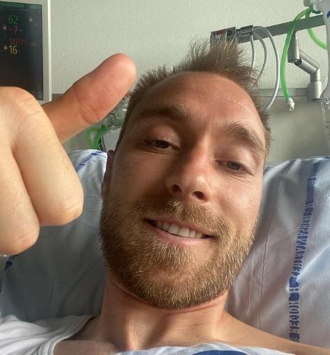 Ериксен: Здраво на сите, јас сум добар и ќе навивам за Данска