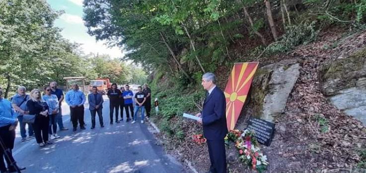 Повторно уништена спомен-плочата на петмината војници убиени во 2001 година