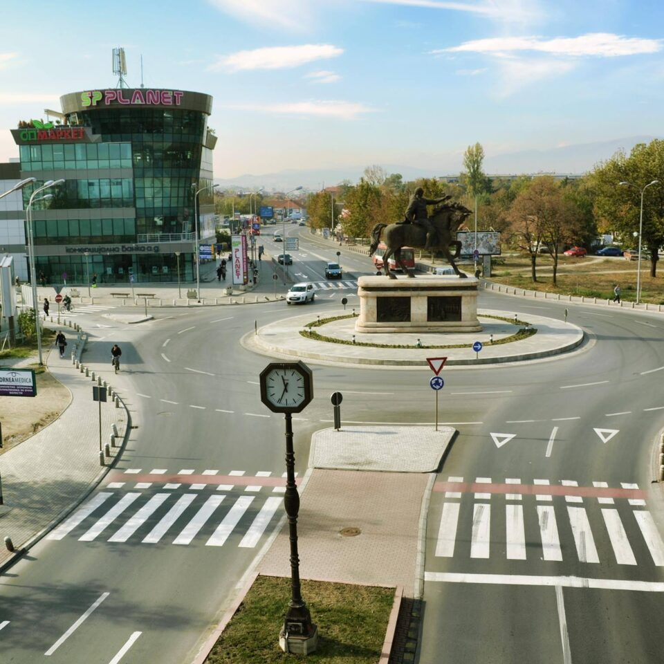 (ВО ЖИВО) Протест на граѓаните на Хром во Ѓорче Петров