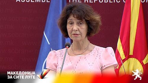 (ВИДЕО) Силјановска: Џафери го прекршува Уставот,на меѓународен план го промовираше јазичниот федерализам