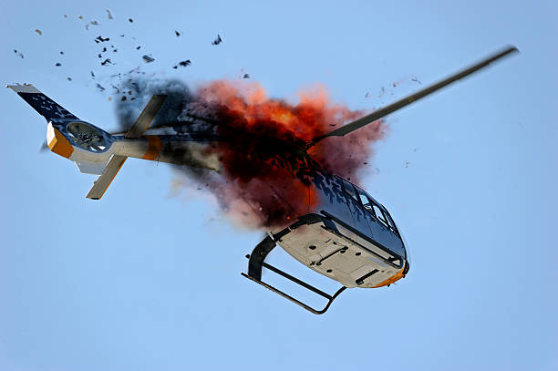 """Шестмина загинати при уривање на хеликоптер """"Блек хоук"""""""