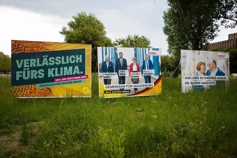 Избори за регионален парламент во германската покраина Саксонија-Анхалт
