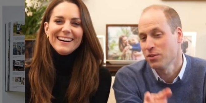 (ФОТО) Кејт и Вилијам со порака до Хари и Меган!