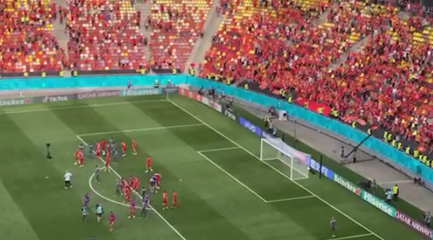 (ВИДЕО) И покрај поразот спектакуларно поздравени македонските фудбалерите