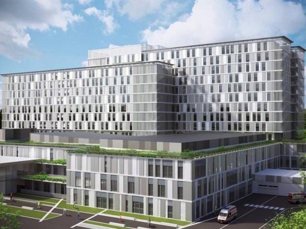 (ВИДЕО) Погледнете го новиот Клинички центар во Белград, поевтин од нашиот и ултра модерен