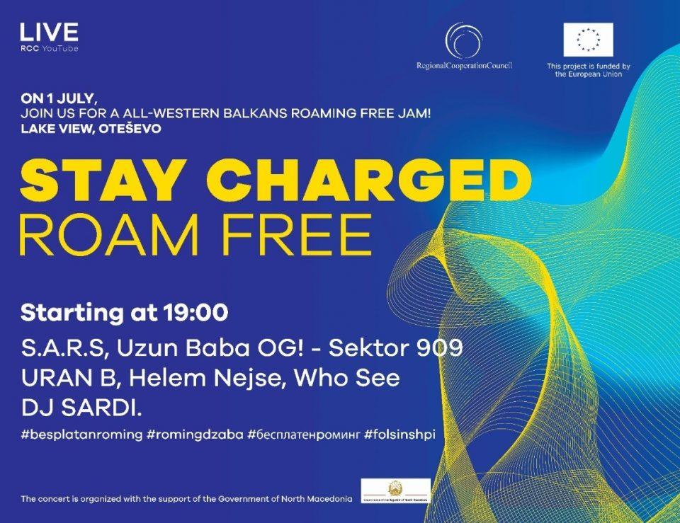 Со концерт во Отешево ќе се слави укинувањето на роамингот на западен Балкан