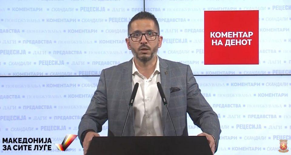 """Божиновски: Куманово 30 години е заложник на СДСМ и типичен пример на """"Заевизмот"""""""