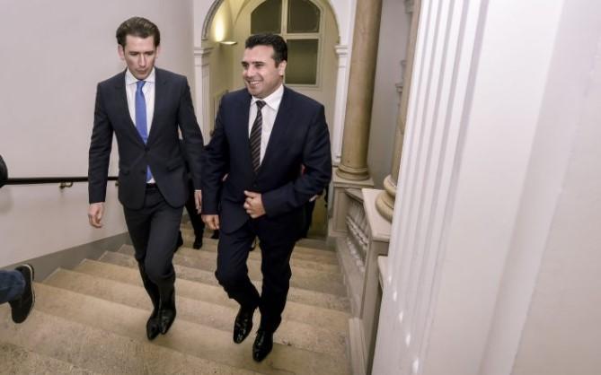 Заев се сретна со Курц: Иднината на Западниот Балкан е во Европа