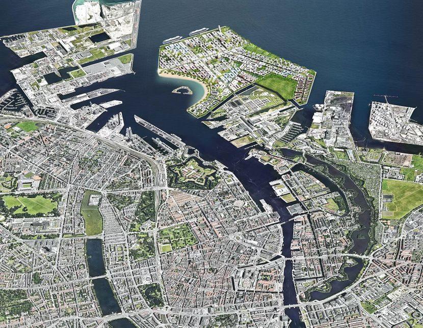 (ФОТО) Ќе се гради огромен вештачки остров во Данска: 35.000 луѓе ќе живеат на него!