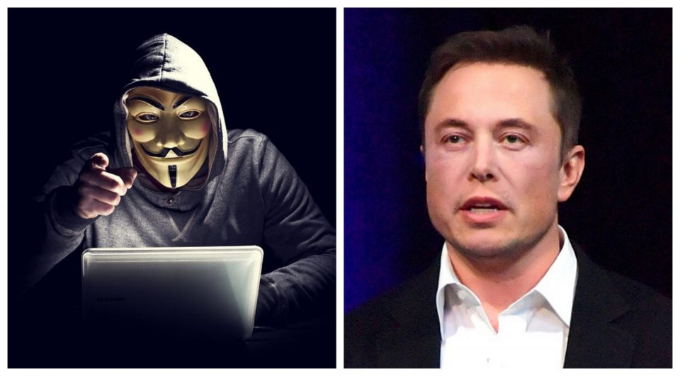 """Анонимуси му објавија војна на Маск – """"Манипулатор и нарцисоиден богаташ"""""""