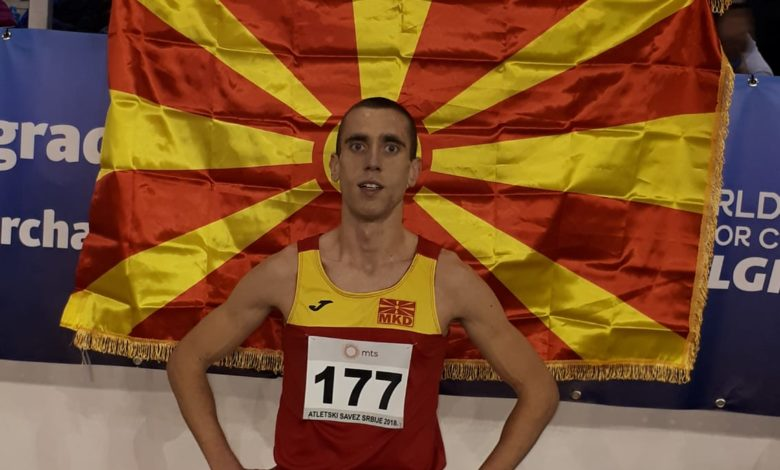 Бронзен медал и нов македонски рекорд на 5000 илјади метри за Ивановски на Балканското првенство