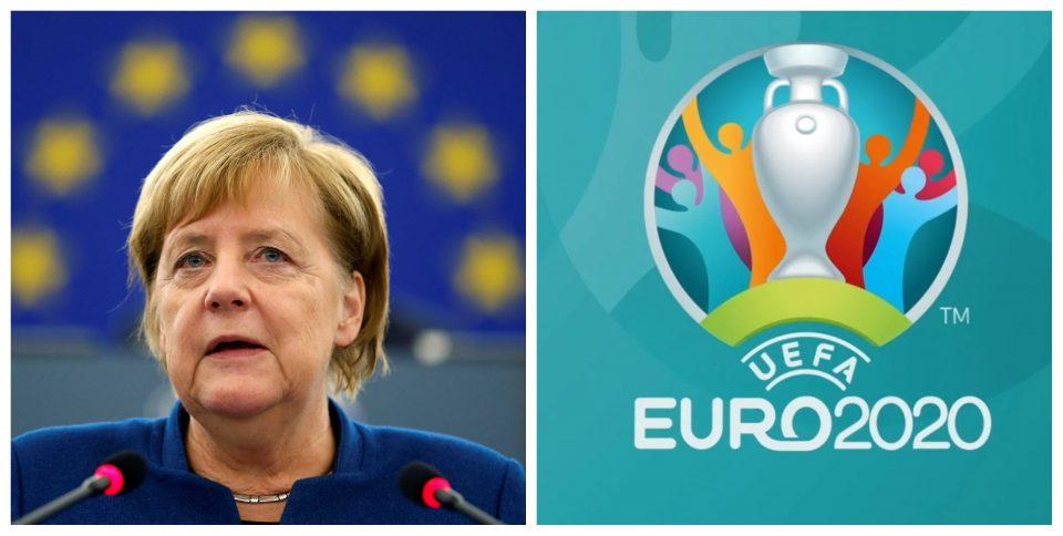 Меркел загрижена ја повика УЕФА по повод финалето на ЕУРО 2020
