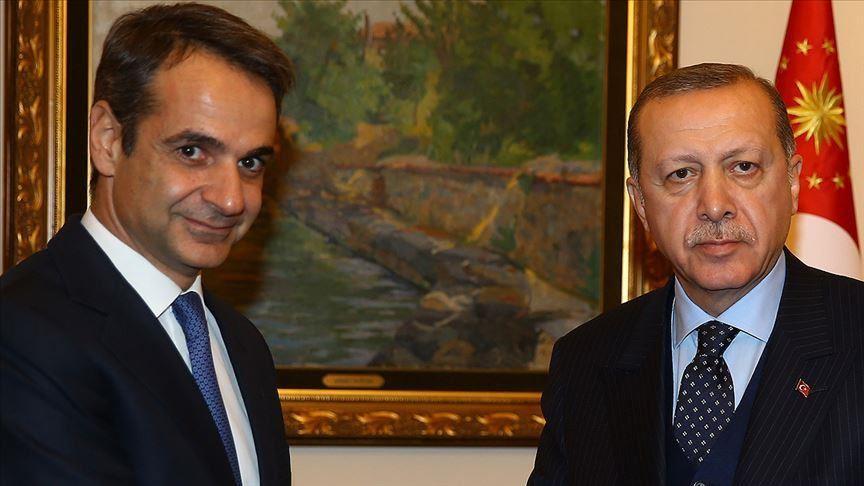 Мицотакис на средба со Ердоган во Брисел