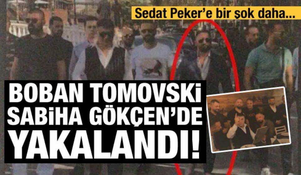 Во Турција уапсен Бобан Томовски, десната рака на мафијашот Седат Пекер