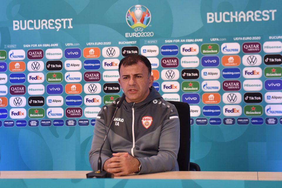 Ангеловски ја одржа последната прес-конфереција како селектор на фудбалската репрезентација