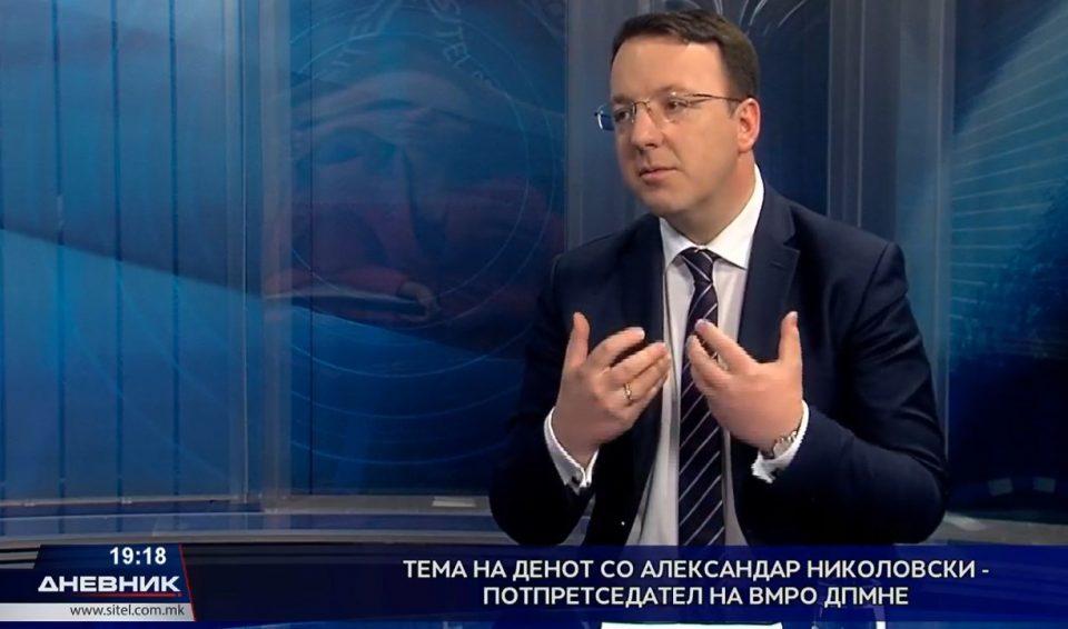 Николоски: Заев сака со сила да остане на власт, но ќе му се случи дебакл на локалните избори