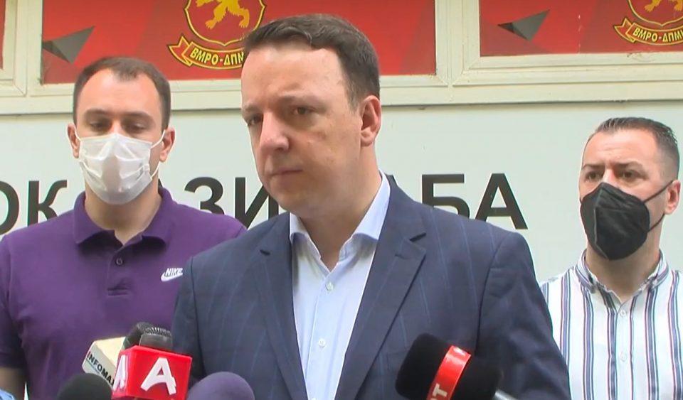 Николоски: Идниот градоначалник на Гази Баба ќе биде од ВМРО-ДПМНЕ, очекуваме победа и за Град Скопје
