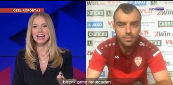(ВИДЕО) Заводлива Турчинка го интервјуира Пандев на македонски јазик