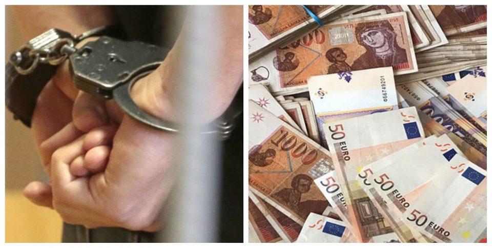 Приведен криминалец од Македонија, пронајдени над 56 илјади евра без доказ за потекло