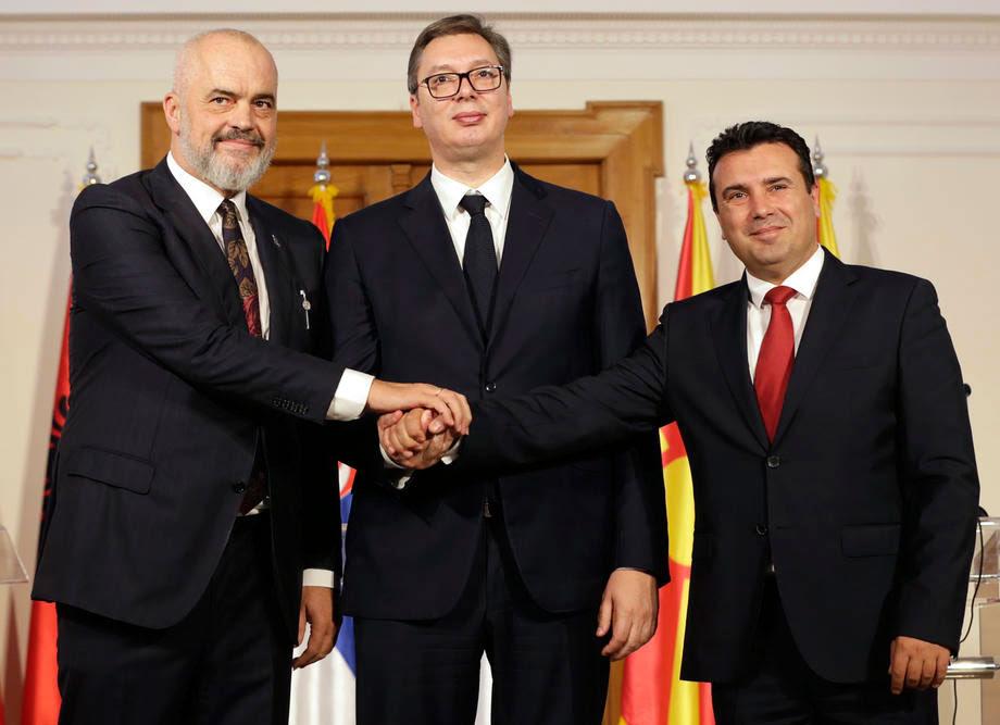 """Заев, Вучиќ и Рама ќе разговараат за """"Малиот Шенген"""""""