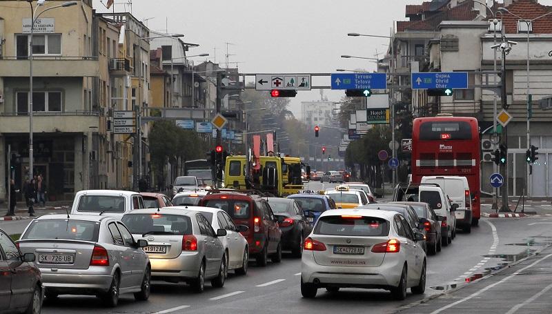 Улица во Скопје вечерва затворена за сообраќај