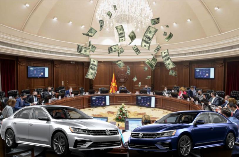 """НОВА СКАНДАЛОЗНА НАБАВКА: Владата не се откажува од рентање возила, објавен тендерот за набавка на 45 """"пасати"""""""