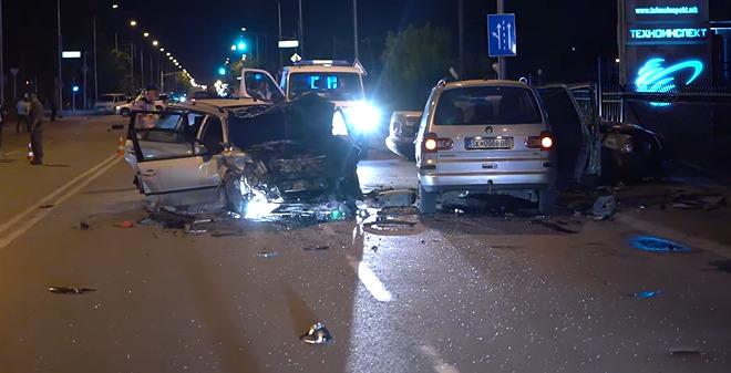 МВР ги објави деталите за страотната сообраќајка на Првомајска