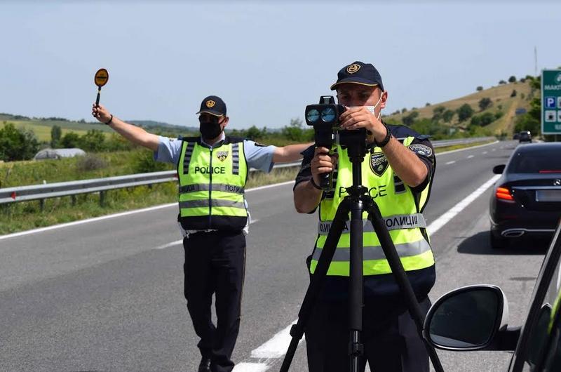 За четири саати казнети 67 возачи на територијата на Куманово