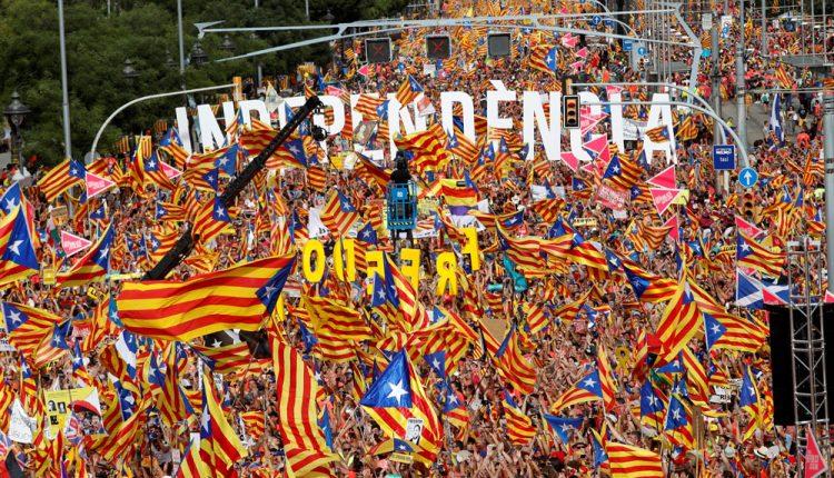 Излегоа од затвор помилуваните каталонски сепаратисти