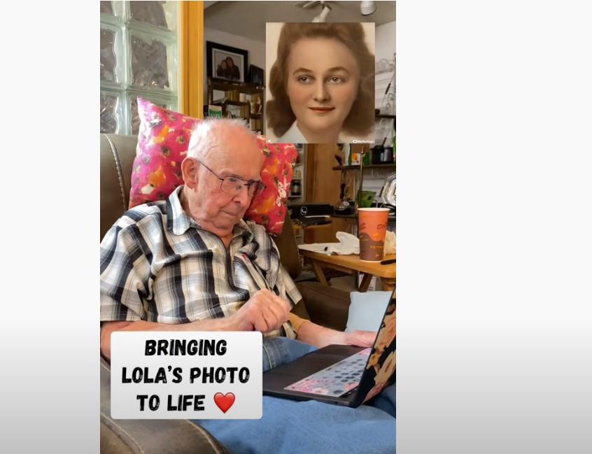 """(ВИДЕО) Емотивна реакција на 98-годишен старец – """"Сè уште ја сакам"""""""