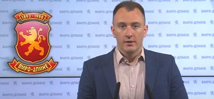 Андоновски: Три години Заев лаже за датумот, со него нема европска иднина