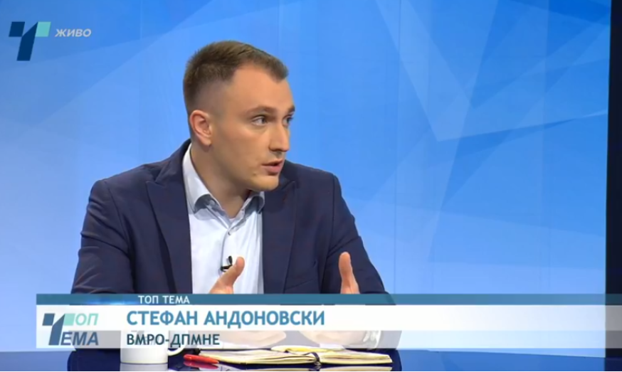 Андоновски: Ние предупредувавме дека датумот е недостижен додека е Заев на власт