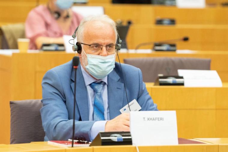 Џафери го прекршил Уставот на Македонија говорејќи на Албански на Самитот во Брисел ?
