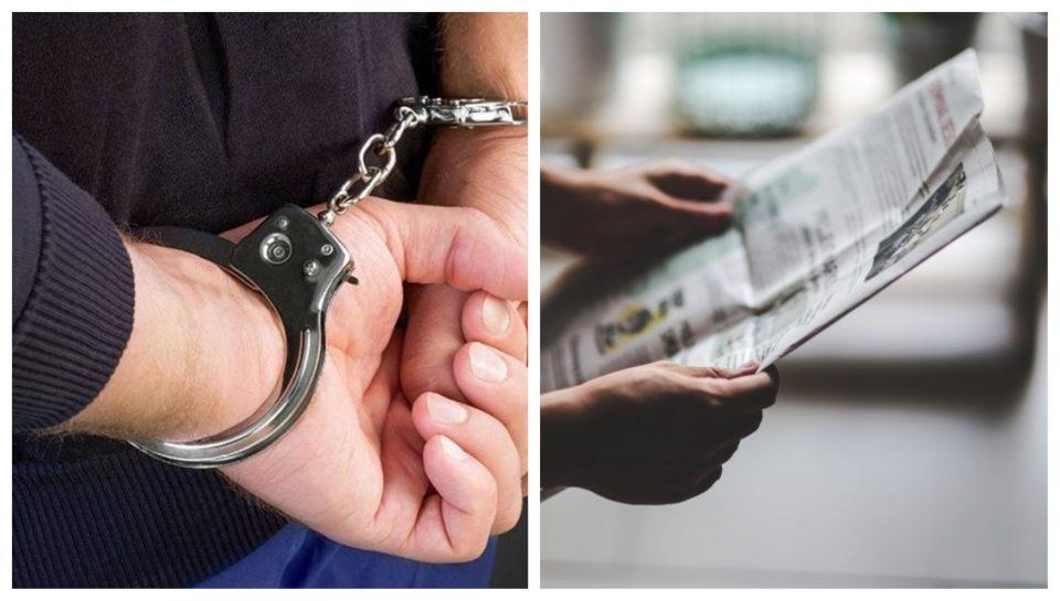 Уапсени петмина уредници на весник