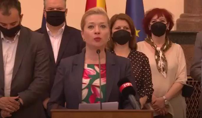 Василевска: Реформите на власта се гол популизам, зад истиот се кријат намерите за злоупотреба на 21.5 милиони евра заем од Светската банка
