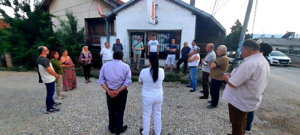 Пратениците на ВМРО-ДПМНЕ на средби со граѓаните: Ќе понудиме решение за секој проблем