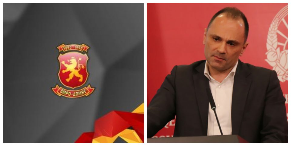 ВМРО-ДПМНЕ реагира: Филипче да се одлучи дали има или нема луѓе на протестите